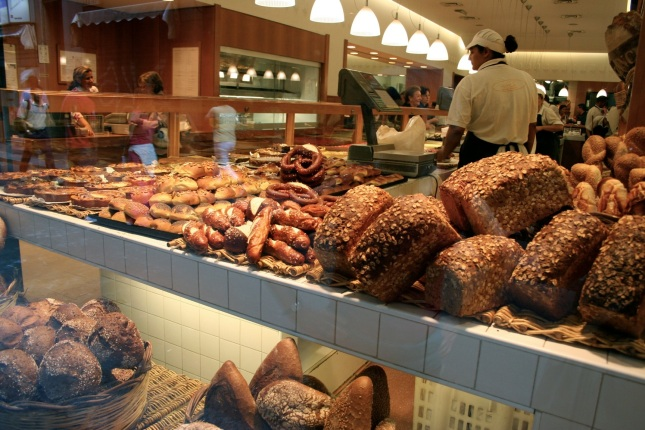 Princi sells bread, focaccia and pizzas all day