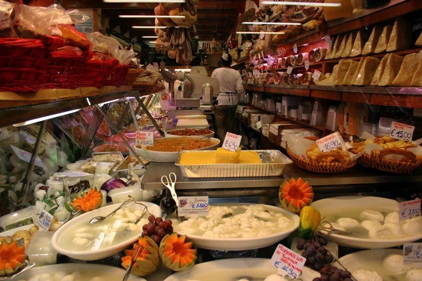 An Italian deli