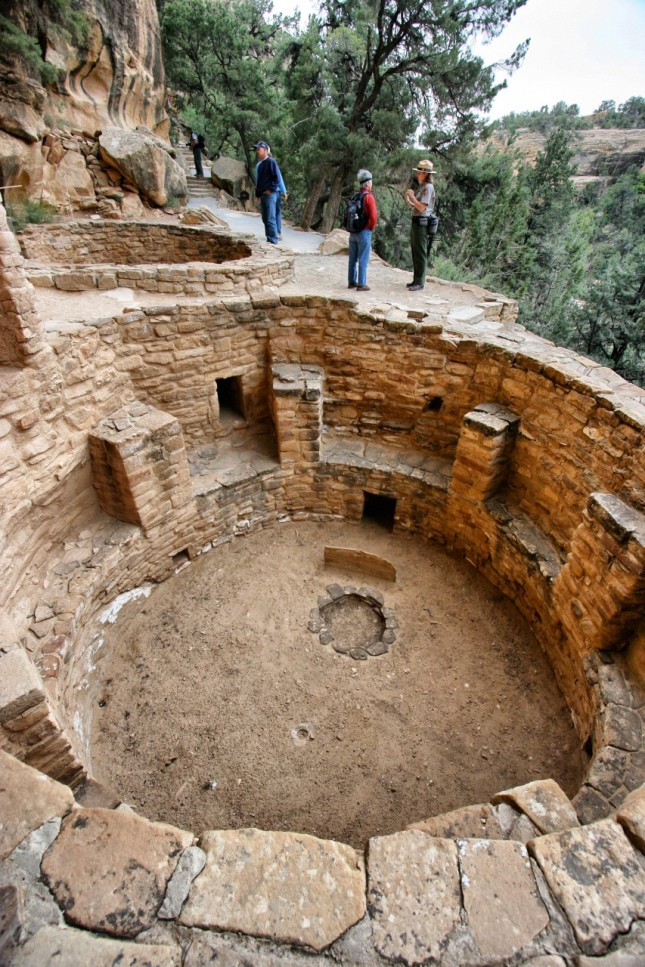 One of 23 kivas at Cliff House