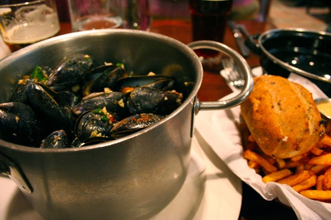 Monk's Red Light Mussels