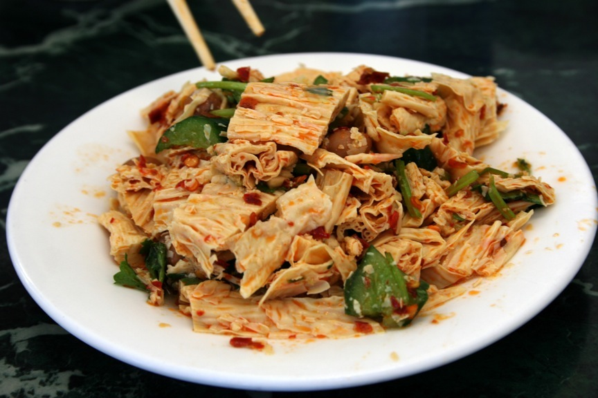 Cold Dried Bean Curd Sheet appetizer