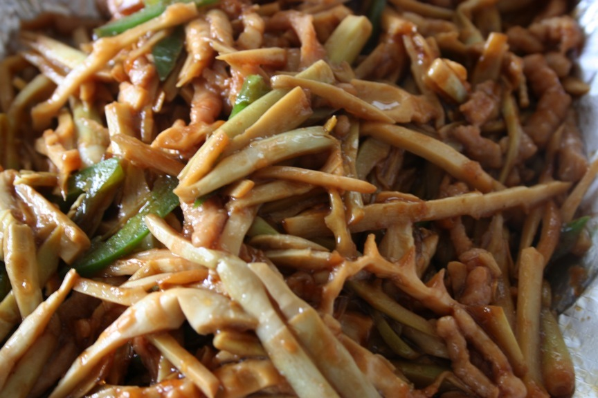 Shredded Pork with Bamboo Shoots