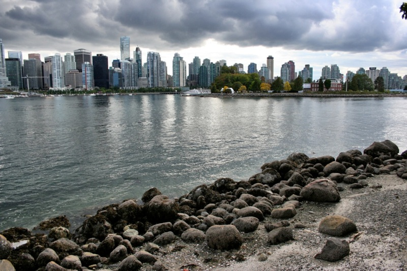 View toward the Vancouver skyline
