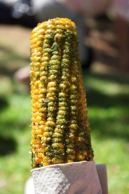 Furikake corn