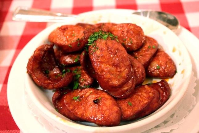 Chorizo casera