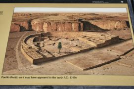 Artists' rendering of Pueblo Bonito