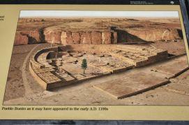 Artists' rendering of Pueblo Bonito