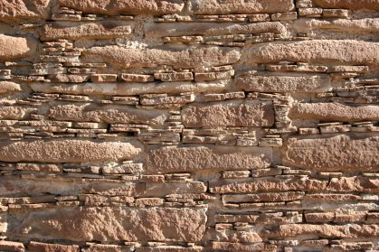 One of the five masonry styles at Chaco