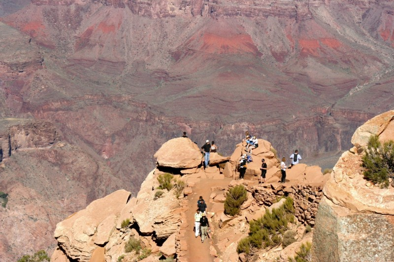 Ooh Ah Point, South Kaibab Trail