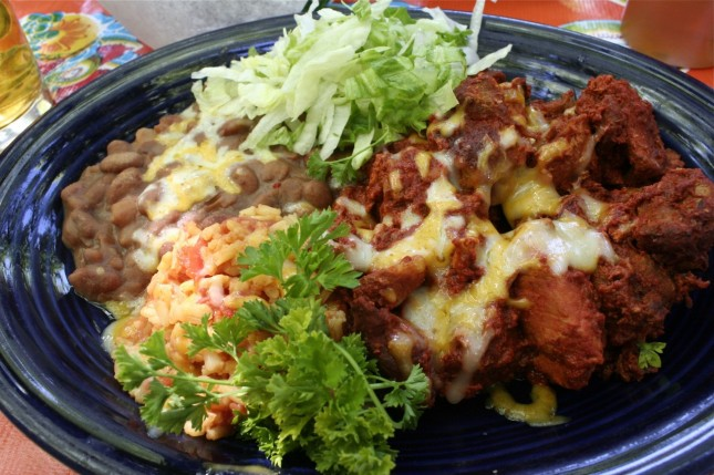 Carne adovada plate