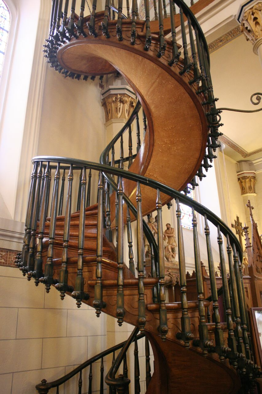 Miraculous Loretto Chapel Stairway Santa Fe Zoomeboshi