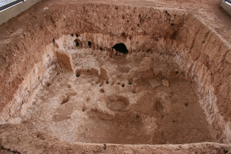 8th- to 10th-century pithouse