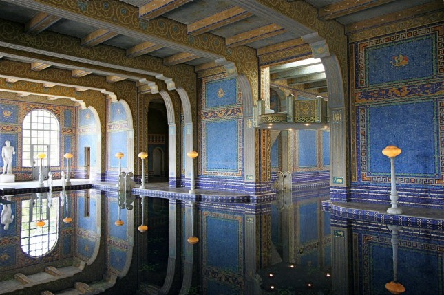 Indoor pool, Hearst Castle