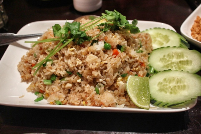 Khao Phad Phu (Fried Rice with Dungeness Crab)