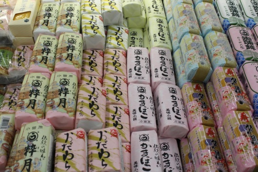 Kamaboko (fish cakes)