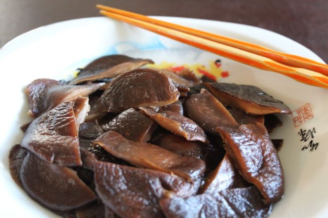 Simmered shiitake with soy sauce