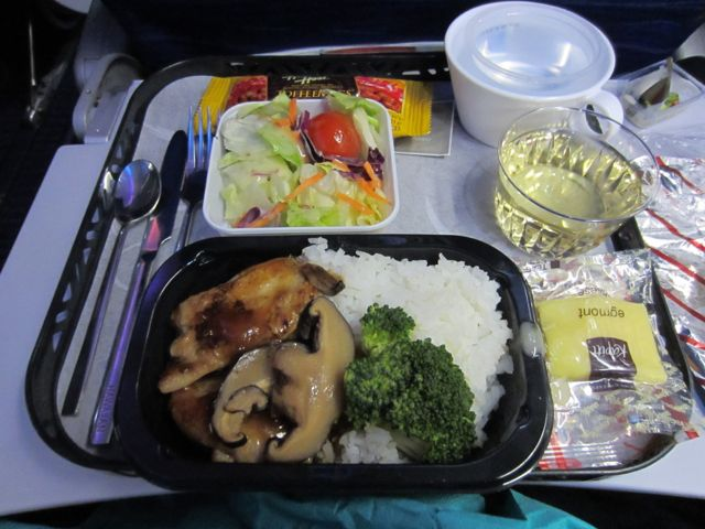 Dinner out of Auckland