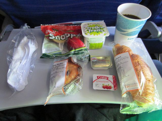 Breakfast into Honolulu