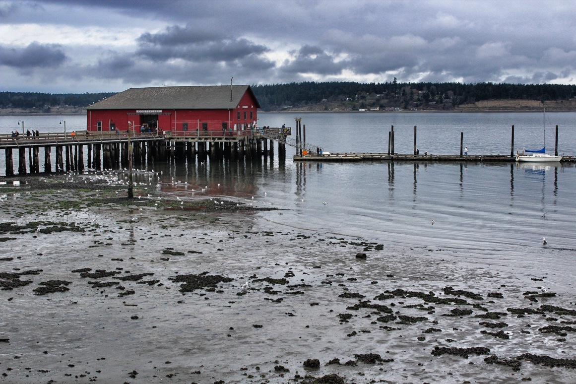 The pier in Coupeville