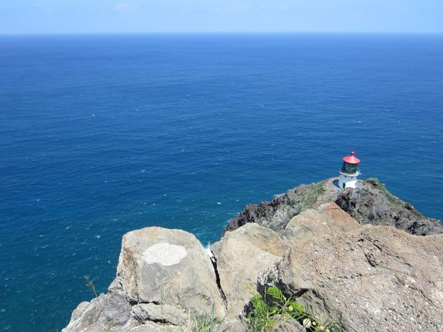 The lighthouse is still operational and off-limits to the public