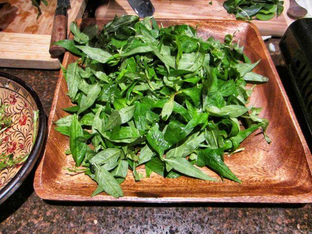 Rau ram leaves for laksa