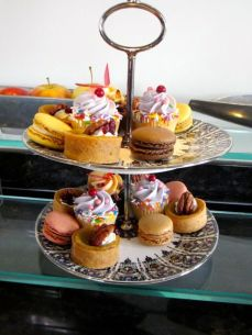 Assorted afternoon sweets
