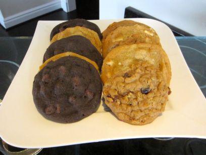 Variety of cookies