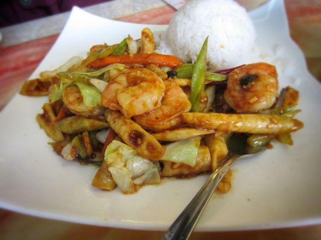 Hot Black Bean Shrimp