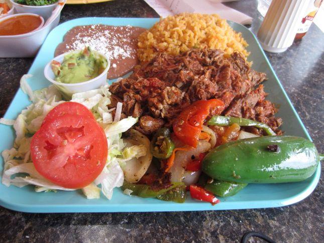 Barbacoa plate