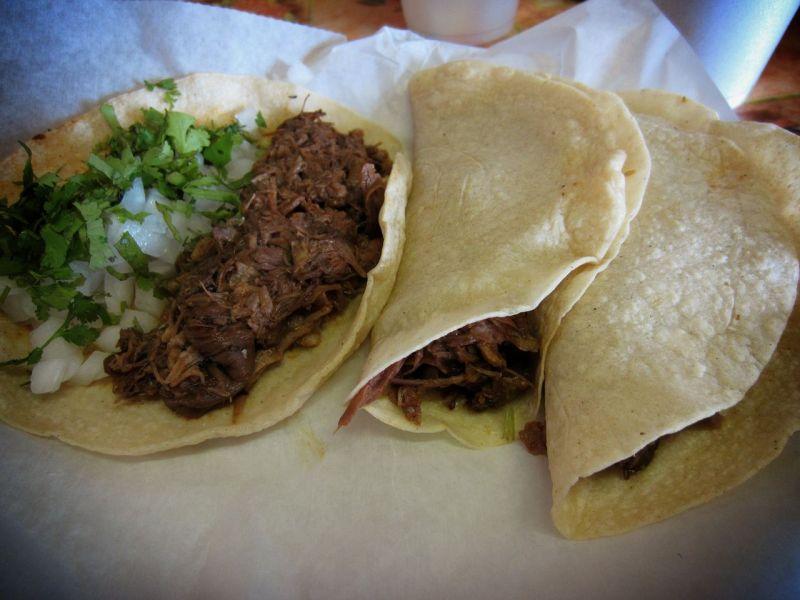 Goat tacos