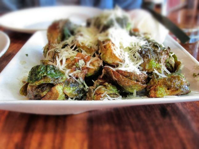 Zut!'s fried brussels sprouts