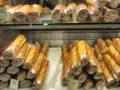 Sandwiches at Le Panier