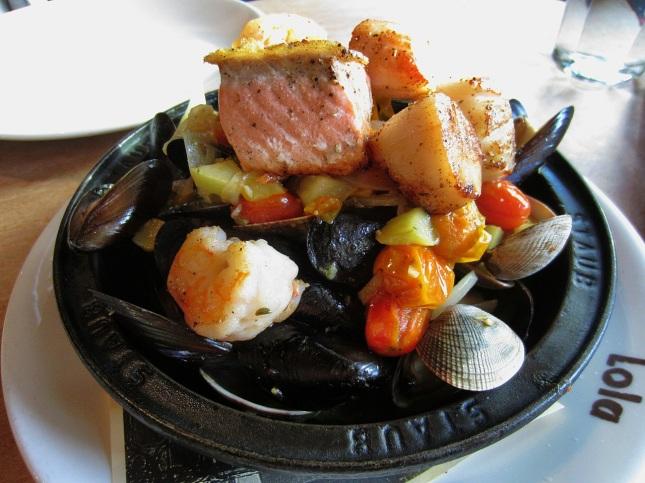 Northwest seafood tagine