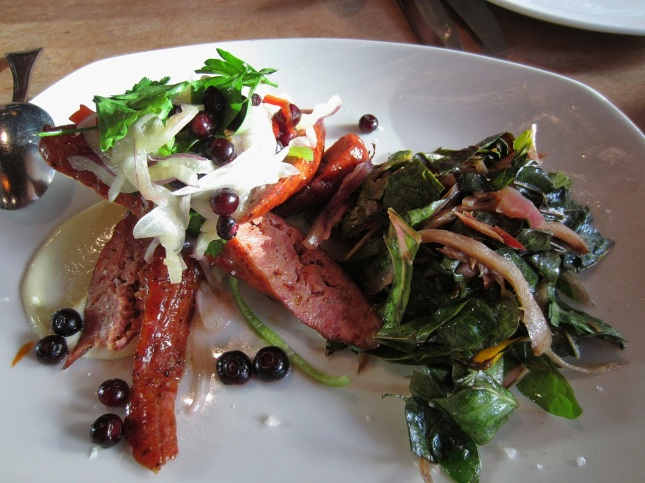 Housemade Greek sausages