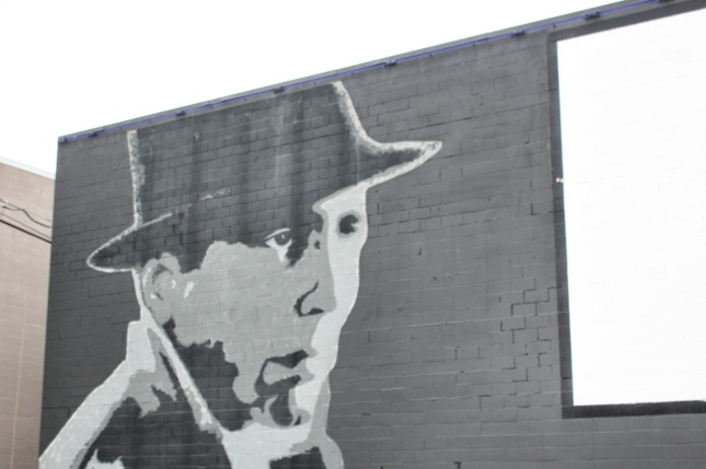 Mural of Humphrey Bogart