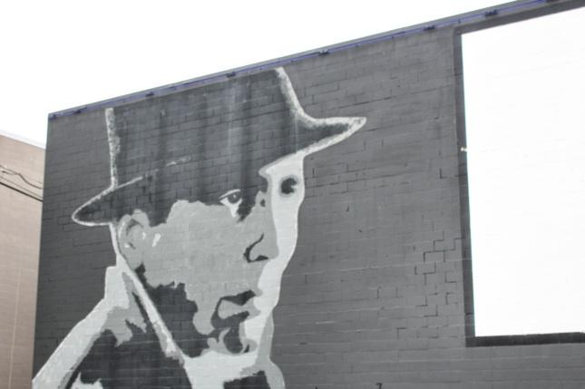 Mural of Humphrey Bogart