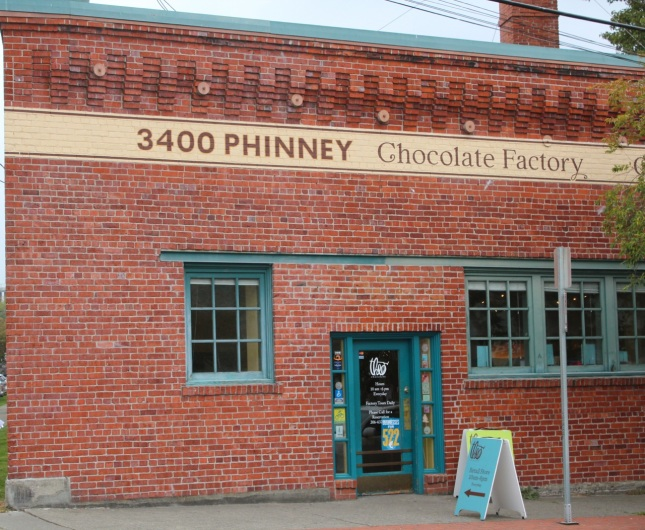 Theo Chocolate building