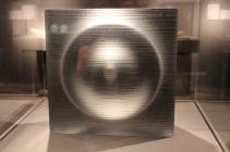 "Richard Whiteley, ""Light Mass."" Cast glass"