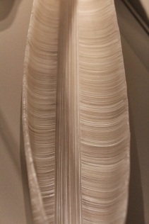 """Cobi Cockburn, """"Presence."""" Cold- and hot-formed glass made to resemble the structure of grass."""