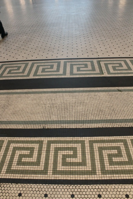 Tile floor, Union Station