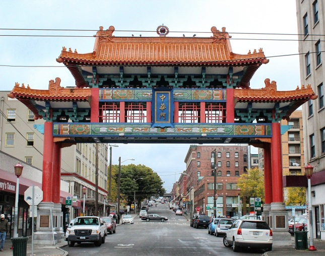 Chinatown gate, International District