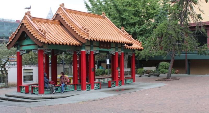 Hink Hay Park pavilion