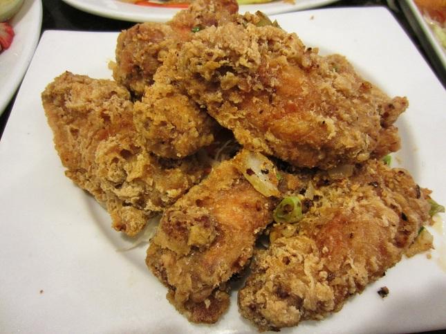 Fried Butter Chicken Wings