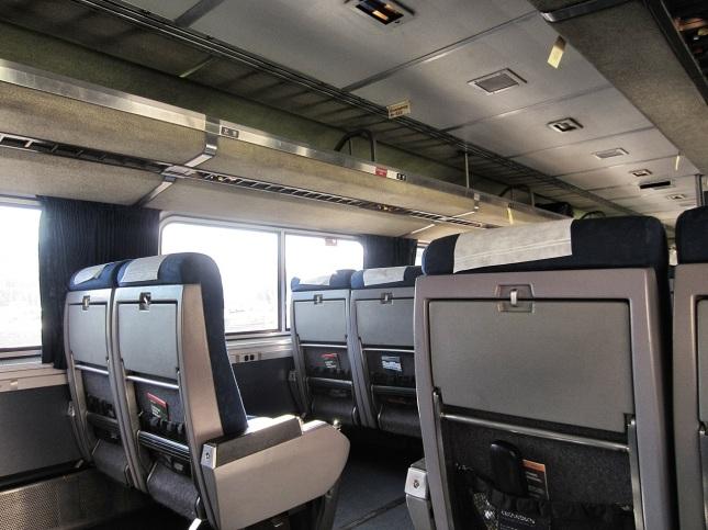 Coast Starliner interior