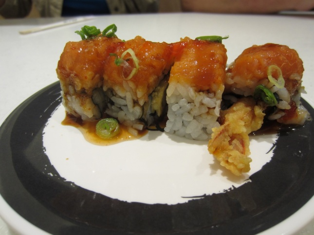 Spicy tempura roll