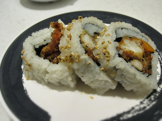 Tempura crab roll