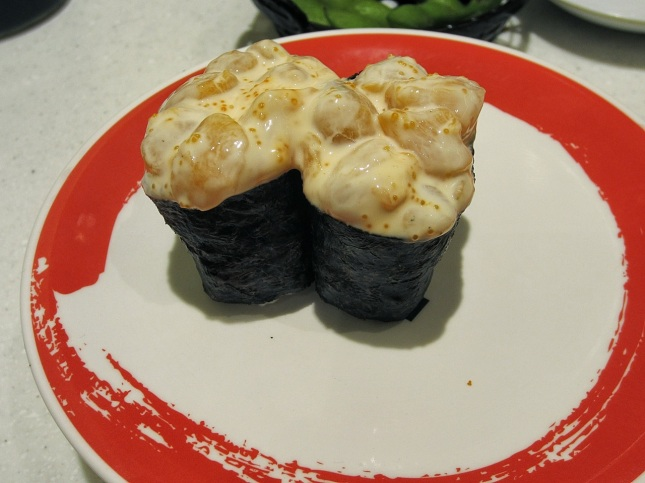 Creamy scallop roll
