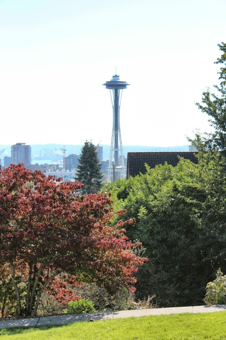 Space Needle from Bhy Kracke viewpoint