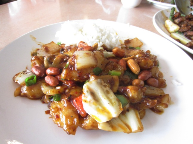 Lunch at szechuan bean flower issaquah zoomeboshi for Eastside fish fry menu