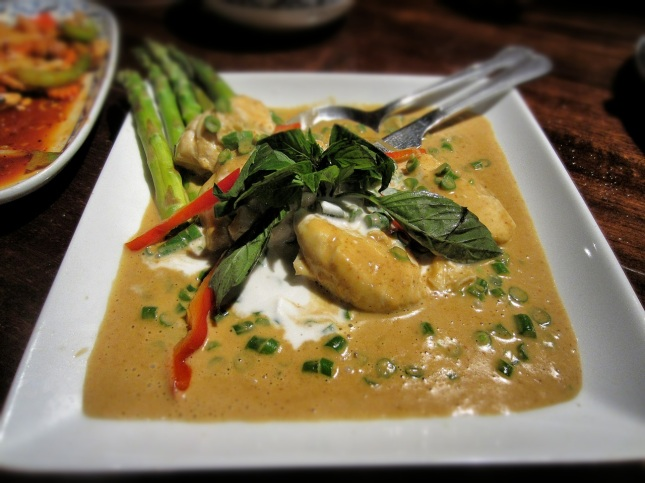 Steamed halibut cheeks
